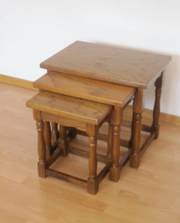 Set de 3 tables gigognes